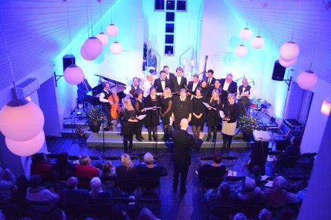 Adventkirken i Lofoten leverte tre fullsatte konserter. To på fredag, og en på lørdag.