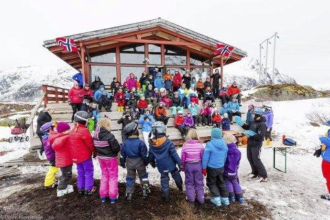 BLIR STØRRE: Med 700.000 fra Olav Thon Stiftelsen kan Svolvær Alpinklubb utvide og renover skistua i Kongstinden Alpinsenter. Foto: Espen Mortensen