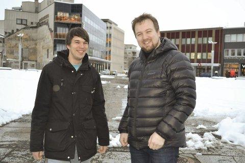 Får bevilling: Stein Inge Pedersen (th) og Ingmar Wåhlberg i Deadline Event.