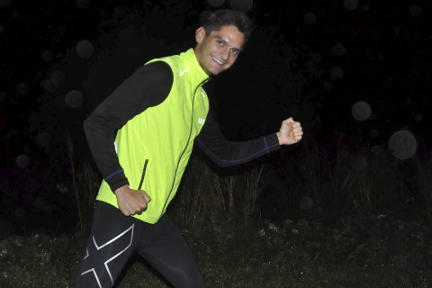 Vestvågøy rundt: Gøran Rasmussen Åland løper langt.Foto: Arkiv