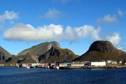 Næringslivet på Værøy (bildet) og Røst vil få økt arbeidsgiveravgift i Bodø kommune