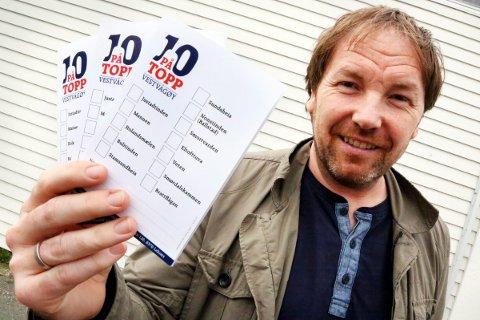 GOD TUR: Geir Kristian Johansen anbefaler alle til å ta en fjelltur når de er på Vestvågøy. Arkivfoto