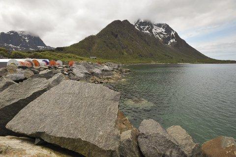 Reguleringsplan: Området på bildet omfatter hele 1053 dekar som nå reguleres til en ny framtidig nasjonalt miljøsenter på Fiskebøl.