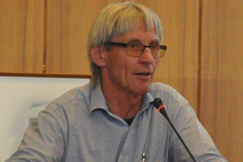 VIO: Gunnar Aarstein i Rødt tok opp behovene VIO har meldt inn, men forslaget falt mot stemmene til Rødt og SV. Kommunestyret vedtok enstemmig et ad-hoc utvalg for å se nærmere på saken:foto: Øystein Ingebrigtsen