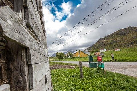 LANDBRUKSJORD: Formannskapet er skeptisk til å slippe til parkering på landbruksjord på Fredvang. FOTO: Eric Fokke