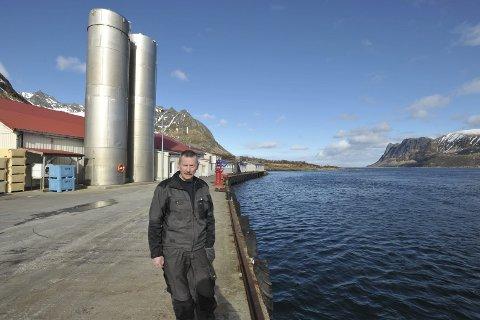 Prosjekt: Gimsøy Pelagiske sitt tidligere anlegg (nå Myre fiskemottak) med kai på Barstrand på Gimsøy kan oppnå delvis finansiering gjennom ordningen «Post 60 tilskudd». Foto: Knut Johansen