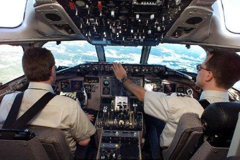Alle pilotene i SAS blir satt på bakken om det blir streik torsdag