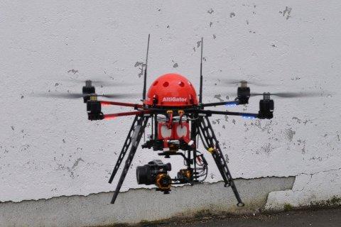 Clean Up Lofoten har tatt droner i bruk i kampen mot avfall