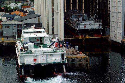 Verkstedindustrien: O. Marhaug Slip og mek. verksted i Svolvær økte inntektene med syv millioner kroner i 2015. Fjoråret ble et bra år for de fleste av reparasjonsverkstedene for skipsflåten i Lofoten.