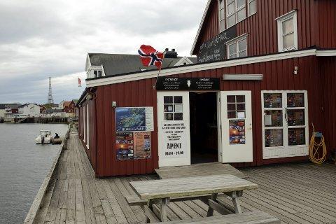 Galleri Lofotens Hus: Galleriet hadde i fjor rekordbesøk i Henningsvær, og 1. februar er man klare for en ny sesong.Foto: Knut Johansen