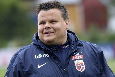 Landslagstrener: Børje Sørensen er dagens tippegjest.Foto: Arkiv