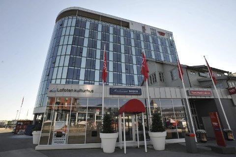 Andreplass: Thon Hotel Lofoten tar en andreplass over reisebyråkunders favoritthoteller i ny kåring. – Målet vår et å bli best på det vi gjør, og jeg føler at vi nå er på god vei, sier hotelldirektør Erik Taraldsen. Foto: Arkiv