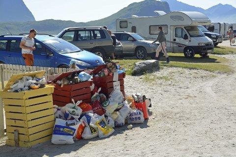Søppel: LAS skal opprette en prosjektgruppe som jobber med turisme og søppel