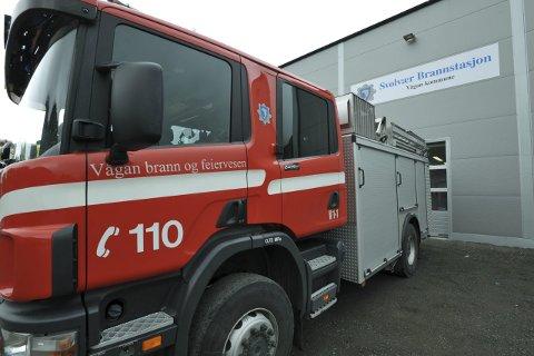 Garderober: Den nye brannstasjonen i Svolvær må få ny garderobeløsning med godkjent ren og skitten sone