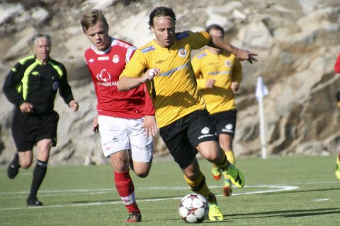Moderklubben: Stig Johansen er fra Kabelvåg og spilte sin aller siste fotballkamp for moderklubben.