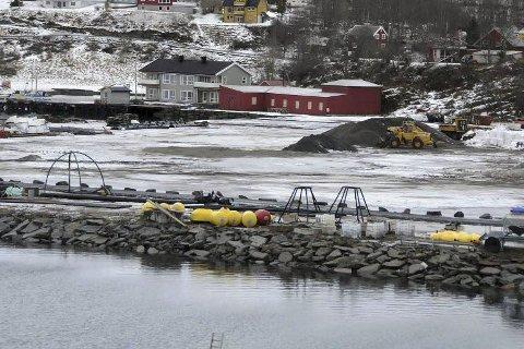 Klart: Det er snart klart for byggestart på Storskjæret i Steigen. Foto: Øyvind A. Olsen, Avisa Nordland