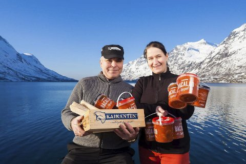 FLYTTER: Kaikanten Invest AS eies  Helge Johnsen og Kristin Nystad Johnsen og det er de som har kjøpt fiskebruket på Ballstad. Foto: Marius Fiskum