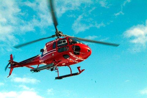Det blir mye helikopterlyd i tre dager i Lofoten.