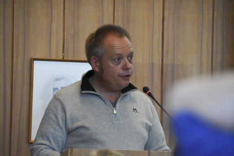 Minus: Styreleder Egil Wiik melder likevel om bedring i 2017 for Vågan havnevesen KF.
