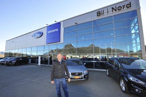 Året 2016: Styreleder Thor Drechsler er eneeier i konsernet Bil i Nord Holding AS, og for første gang har et firma med hovedsete i Svolvær passert milliardomsetning. Foto: Knut Johansen