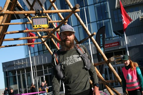 Rob Krar som vant  50 miles løpet synes Lofoten Ultra Trail var både vanskelig og vakker
