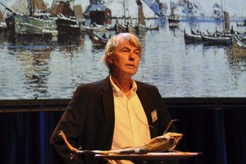 Skreiens historie: Frank A. Jenssen holdt foredrag om skreien.