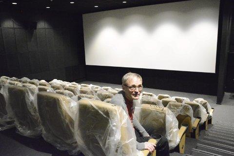 Salen: Sist fredag reagerte flere kinogjengere på at ungdom kastet popcorn i salen. – Dette er ikke akseptabelt, og det vil bli slått ned på, sier Olsen.