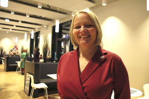 Plass: Mona Fagerås fikk stortingsplass for SV.Foto: KAI J. Kristoffersen