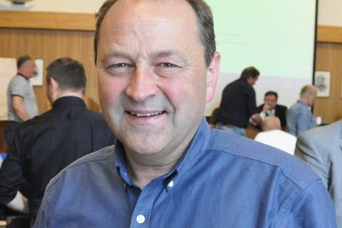 Fornøyd: Frank Johnsen i Vågan Sp er glad for oppgang også i hjemkommunen.