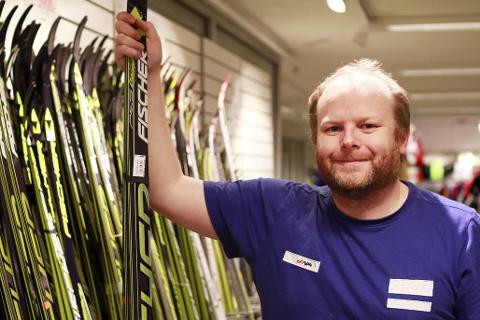 Anders Høyen fra Stamsund har drevet sportsbutikk i Bodø i mange år.