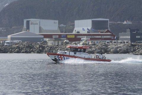 """ALENE: For tiden er """"Sundt Flyer"""" den eneste rednignsskøyta i Lofoten."""