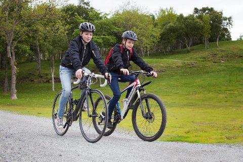La barna få muligheten til å gå eller sykle til skolen