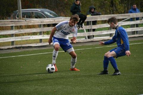 Ola Antonsen-Meløy scoret to av FK Lofotens mål.
