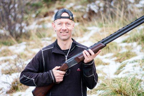 Harepest: Tidligere denne uka gjorde Mikael Andersen funn av harepest etter at han felte et dyr i Flakstad.