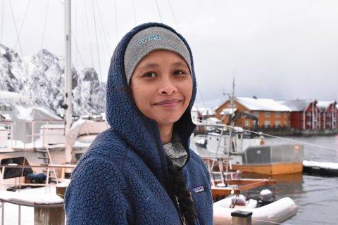 VINNER FRA LOFOTEN: Nok Sandholm (40) er videre konkurransen om å bli Norges beste på Instagram. Hun konkurrerer nå mot profiler fra hele Norge.
