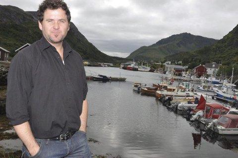 SJØPØLSE: Peder Skeistrand er styreleder i Lofoten Arctic Seafood AS