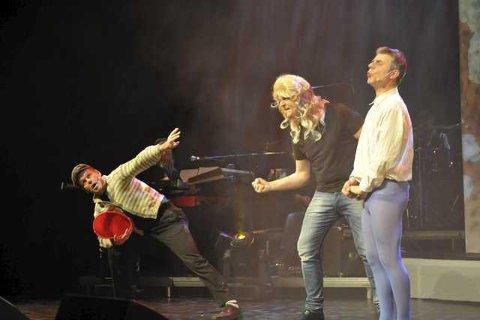 Humorkameratene med Stein Alsos, Harald Varvik Johnsen og Bjørn Nilsen fyller 28 år, eller...