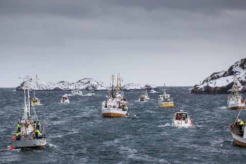 TRUA: Det populære Lofotfisket om vinteren kan bli truet av klimaendringene hvis temperaturen i havet stiger, mener forskere. Her fra årets VM i Skreifiske.