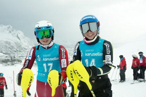 Klar: Ansgar Kristiansen (13) og Cornelia Størmer (13) har kvalifisert seg til de nasjonale finalene.