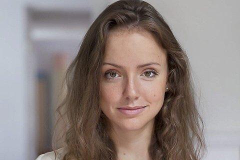 """Blir film: Rebecca Dinerstein fra USA sin roman """"The Sunlit Night"""" med handling i Lofoten blir film."""