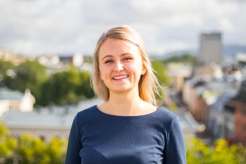 Elizabeth Sire (21) er foreslått inn i Unge Høyres sentralstyre.