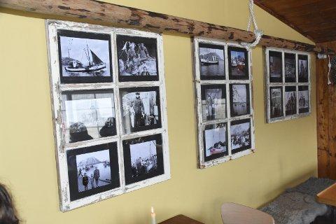 HISTORIE: Det oser historie på og i veggene på Kaikanten Kro.