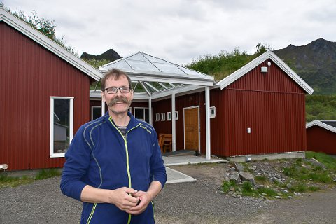 Nyetablering: Roy-Inge Eilertsen ved Livland Gård har fått støtte fra kommunen for å demme opp for koronaens konsekvenser.