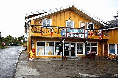 Solgt: Lofoten turist og rorbusenter i Ørsvågvær er solgt til E i Nord AS