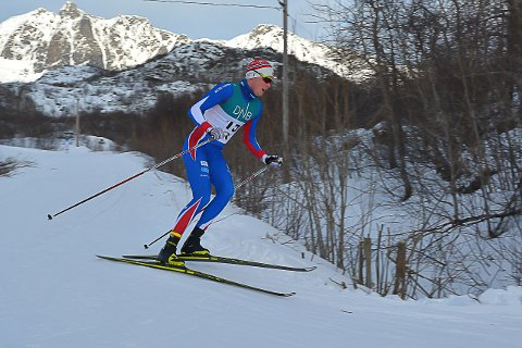 BEDRE: Arnt Gunnar Winther (22) fra Svolvær gjorde det godt i Norgescupen i helga.