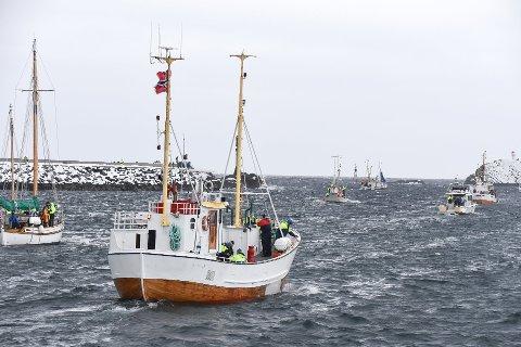 Fra utror i VM i skreifiske. Kanskje kan turister få være med ut i egen båt og oppleve dette eventyret på havet.