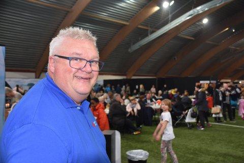 Festivalsjef Roger Larsen er glad for at Matfestivalen i Lofoten 2019 er i gang. Arkivfoto