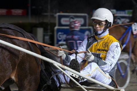 INNBRINGENDE: 43.500 kroner kjørte Sigmund Jakobsen inn til sine hesteiere lørdag kveld.