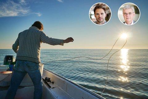 Fisketurister skal ha et fornuftig ressursuttak, som blir registrert, skriver Ole Henrik Hjartøy og Ole Michael Bjørndal.