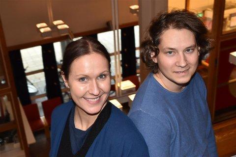 Adele Eilertsen og Kim-Remi Sandvær har fått jobb i Vestvågøy kommune.
